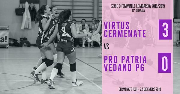 LOM-Df: 11^ Virtus Cermenate - Pro Patria Vedano PG
