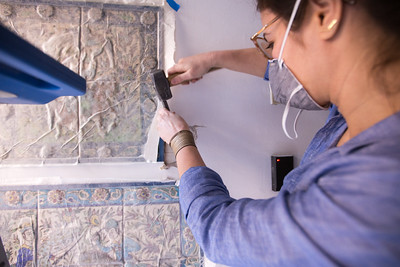 Persian Tile Conservation