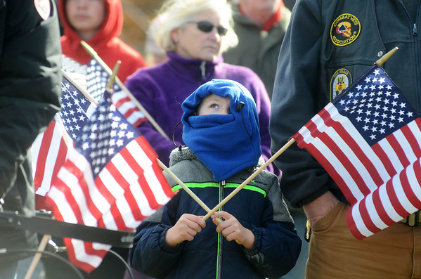 Veterans Day parades and ceremonies in North Adams and Pittsfield - 111118