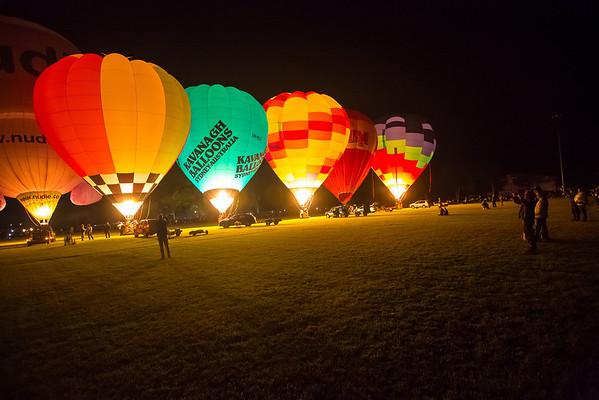 Saturday Baloon Glow