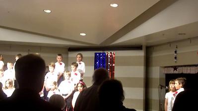 2nd Grade Patriotic Concert