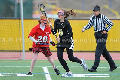 Lacrosse, Girls H.S. JV, St Anthony's Vs Sacred Heart, 05-12-08
