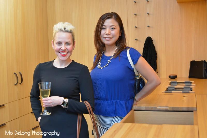 Kellye Denton and Junko Nagai