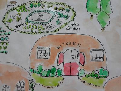 Wildflower Retreat drawings