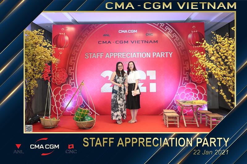 CMA - CGM VIETNAM | Year End Party 2020 instant print photo booth @ New World Hotel Saigon | Chụp hình in ảnh lấy liền Tất niên 2020 tại TP Hồ Chí Minh | WefieBox Photobooth Vietnam