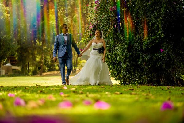 Ale and Ever´s Wedding at Avandaro, Valle de Bravo, Mexico