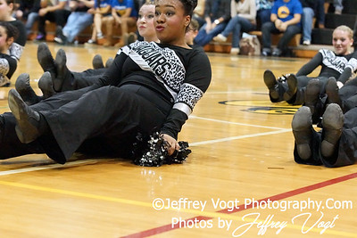 01-07-2012 Northwest HS Poms Competition at Damascus HS, Photos by Jeffrey Vogt Photography