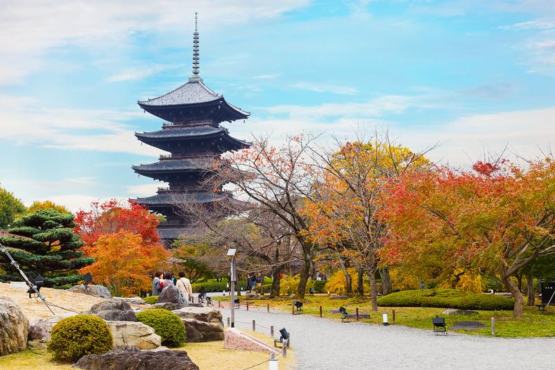 Toji temple. Editorial credit: cowardlion / Shutterstock.com