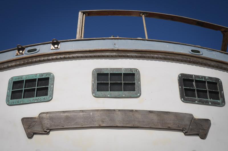 Costa Rica White Boat