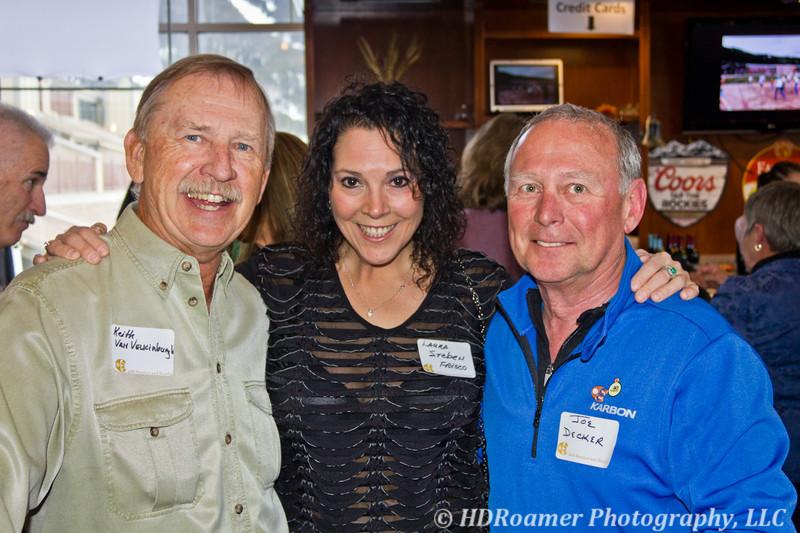 Keith Van Velkinburgh, Laura Steben, & Joe Decker