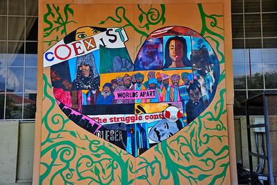 Houston Building Graffiti & Art