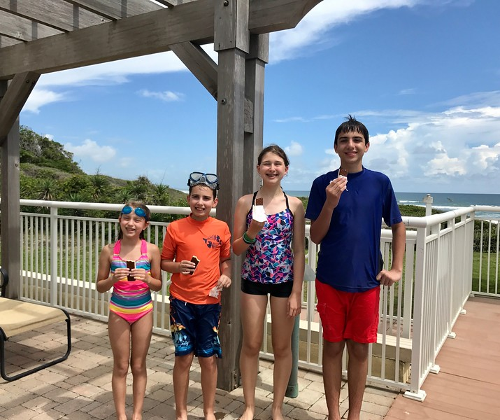 Lizzie, Nathan, Madeline and Christopher
