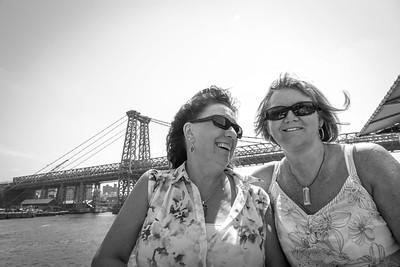 Liz & Carol &  NYC