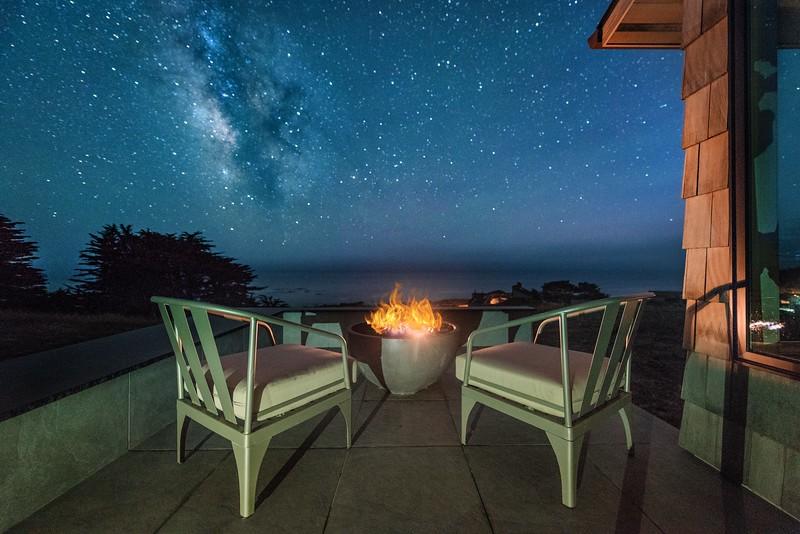 Star Gazing at Night
