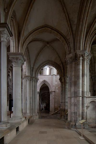 Vezelay Sainte-Madeleine Abbey Ambulatory Aisle