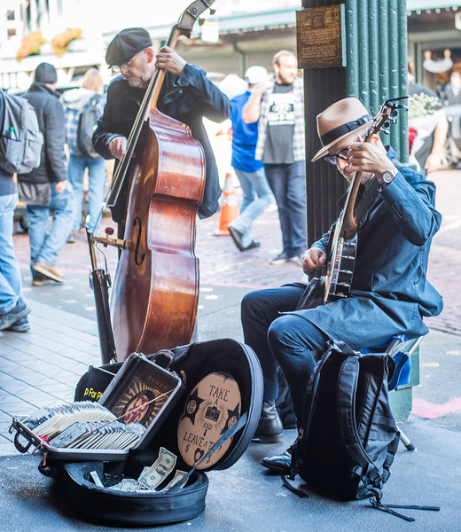 Pike Place Street Performers
