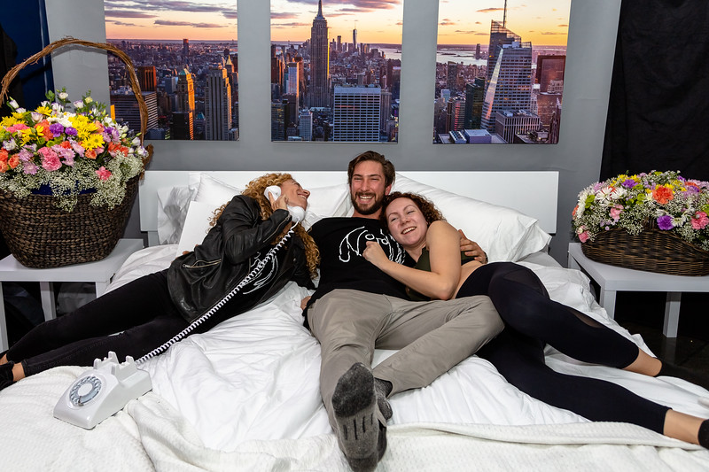 2018_10_17, Adorama, Bed, Bed In, Jaime Walden, New York, NY, Photo Booth, Steven Meloney