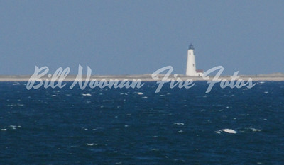 Great Point lighthouse from the ferry.....