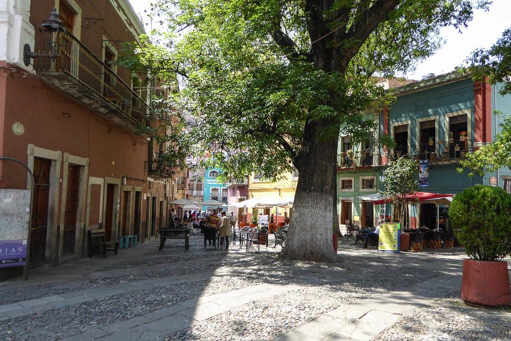 Plaza de San Francisco in Guanajuato, Mexico
