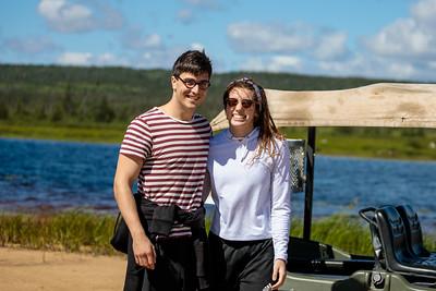 2018-08 Rose's Cabin - Sarah and Pascal