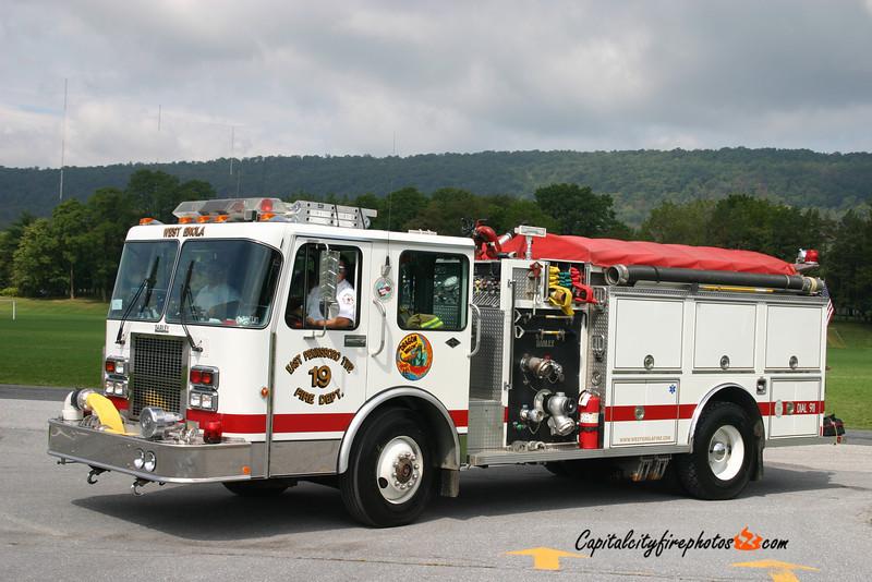 West Enola Engine 19: 1991 Spartan/Darley 1500/750