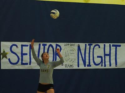 Varsity Volleyball - 10/28/14