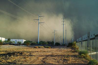 Dust Storm 8-26-2013