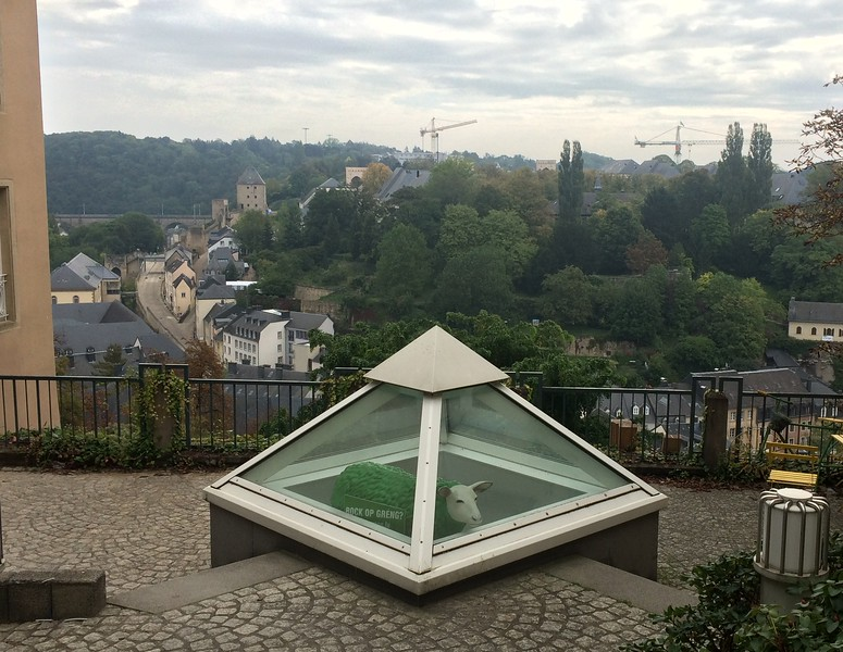 This is what we call: weird in Luxembourg