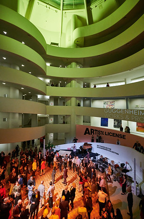 Rotunda Party Guggenheim Works and Process 2019