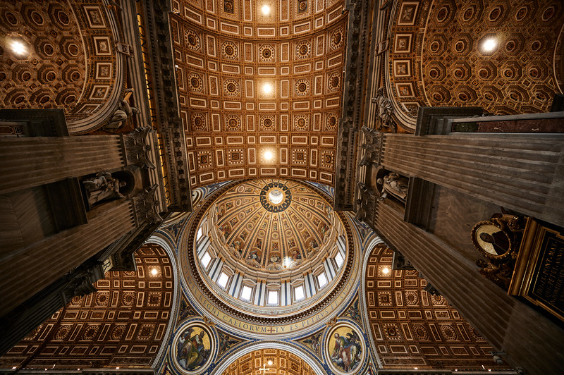 Ceiling of St. Peter's Bascillica
