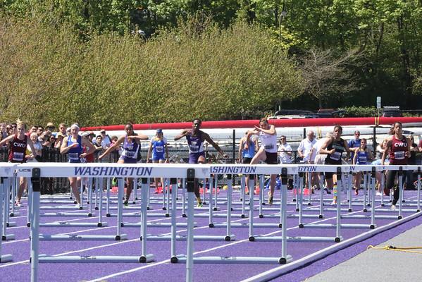 2013-05-04 UW Track & Field Meet - Womens 100m Hurdles