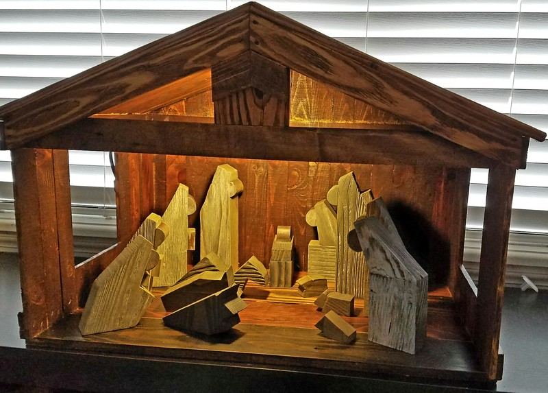 Nativity Set December 2017 The Knot Woodworking