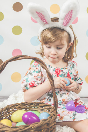 Olive + June's Easter Mini Session