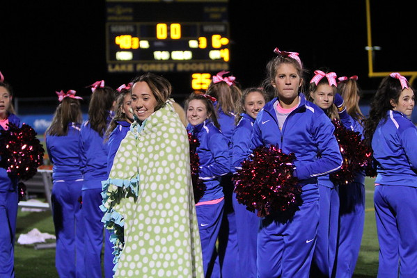 Varsity LFHS vs Grant Pink Out 3-Oct-15