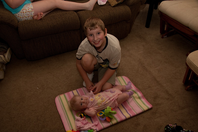 Joshua & Chloe, August 13th 2006