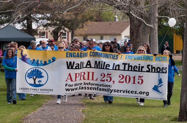 2015 Lassen Family Services Walk-A-Mile
