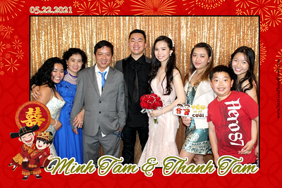 Minh Tam & Thanh Tam Wedding 5/22/2021