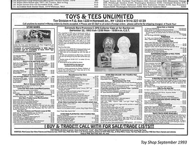 Rob's Toy Shop Ads from the 1990's