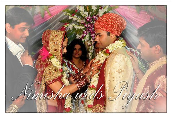 Piyush weds Nimisha Feb'08