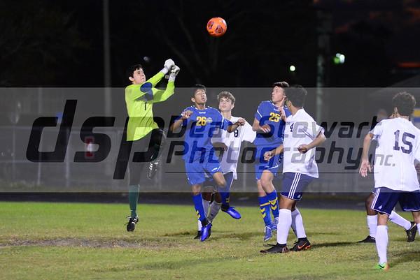 Boys JV soccer vs Lyman 12*07*18