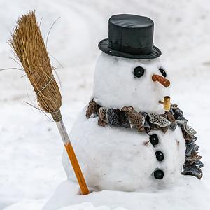 12-24-20 D'Arcy's Snowman