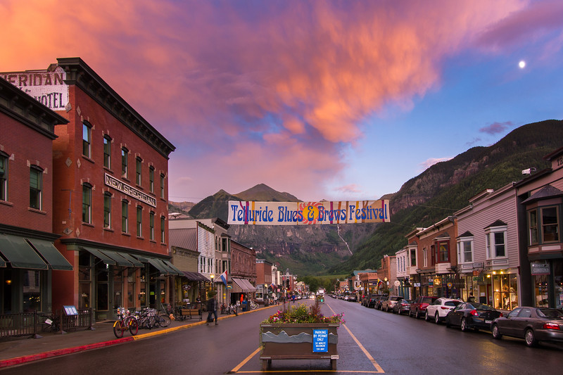 Main Street Blues, Telluride Colorado