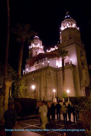 Hearst Castle Night Visit 12/18/2008