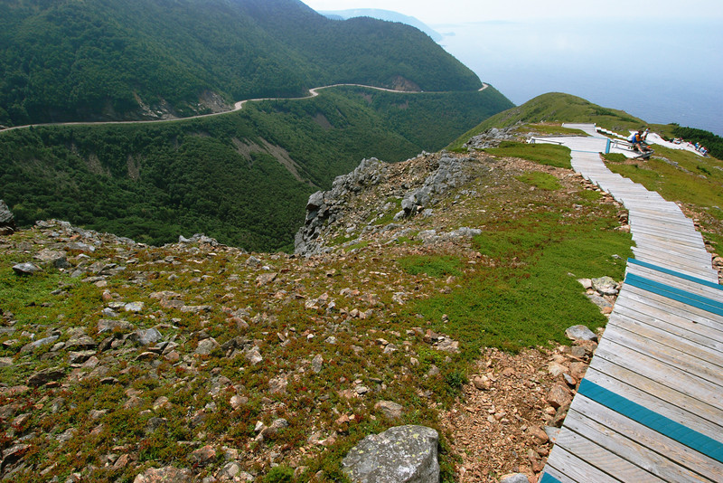 """Cabot trail et sentier """"Skyline"""" - Parc national des Hautes-Terres du Cap Breton"""