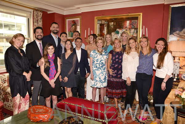 Sept 17, 2018 Jacqueline Weld Drake hosts Pachanga Luncheon