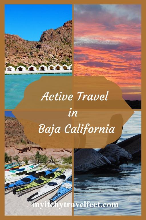 Active travel in Baja California including glamping.