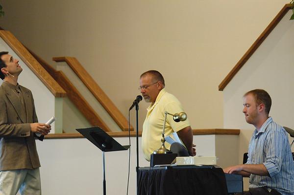 May 30, 2010 Worship - Both Services