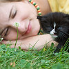 Kitten & Girl