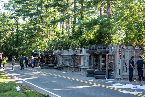 Jericho Overturned Tractor Trailer 08/02/2021