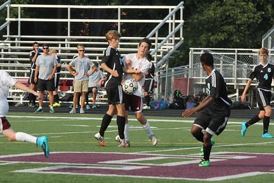 HCHS JV soccer vs GR Christian